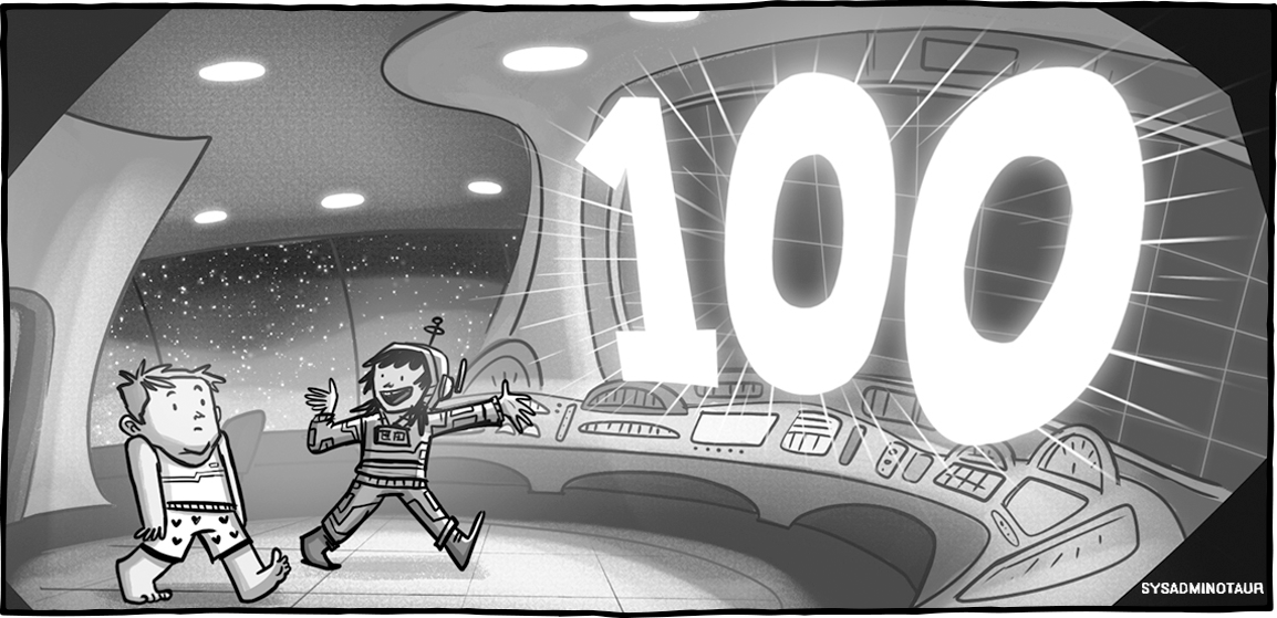 Sysadminotaur #100: Utopia