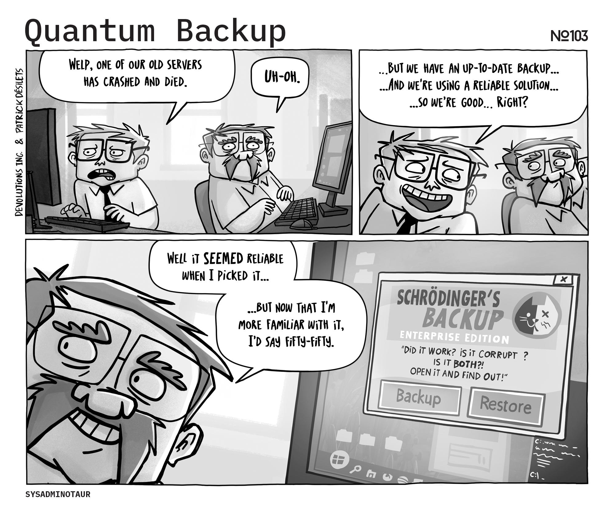 sysadminotaur-103-quantum_backup