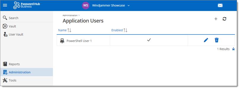 PowerShell-Password-Hub-Application-User