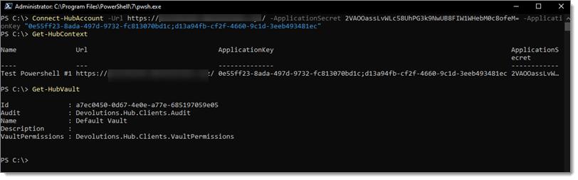 PowerShell-Password-Hub-Command-GetHubVault