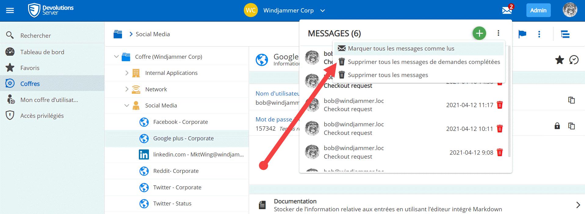 fr secure messages