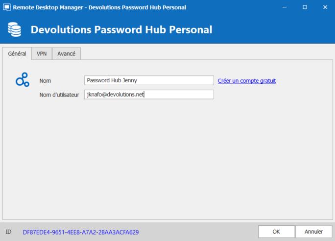 rdm sourcededonnes passwordhubpersonal