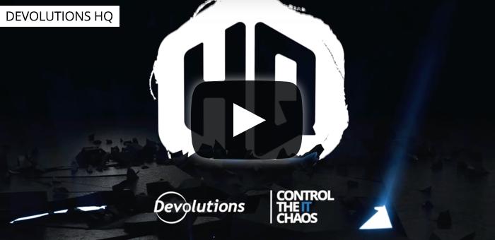Introducing Devolutions Server 2020.3 - HQ #32
