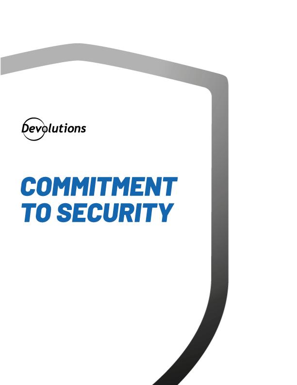 Verpflichtung zur Sicherheit