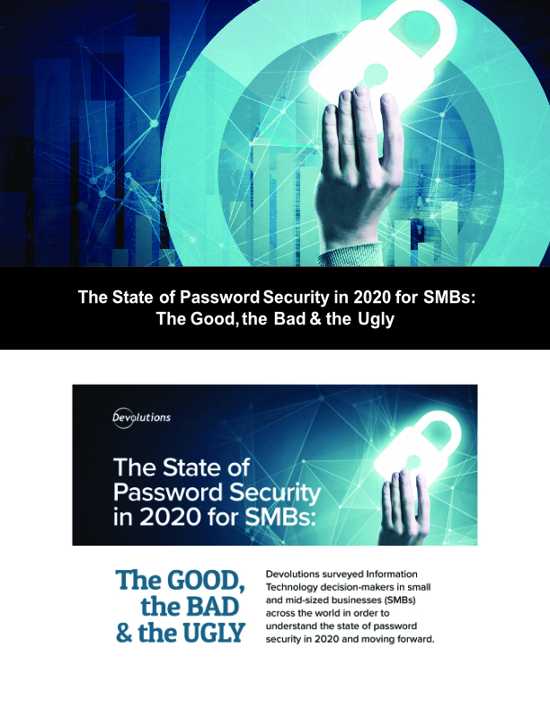The State of Password Security in 2020 for SMBs: The Good, the Bad & the Ugly