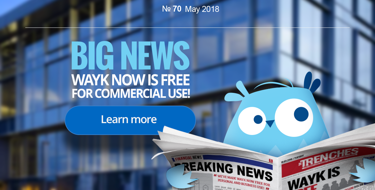 BIG NEWS - Wayk Now is free for business use!
