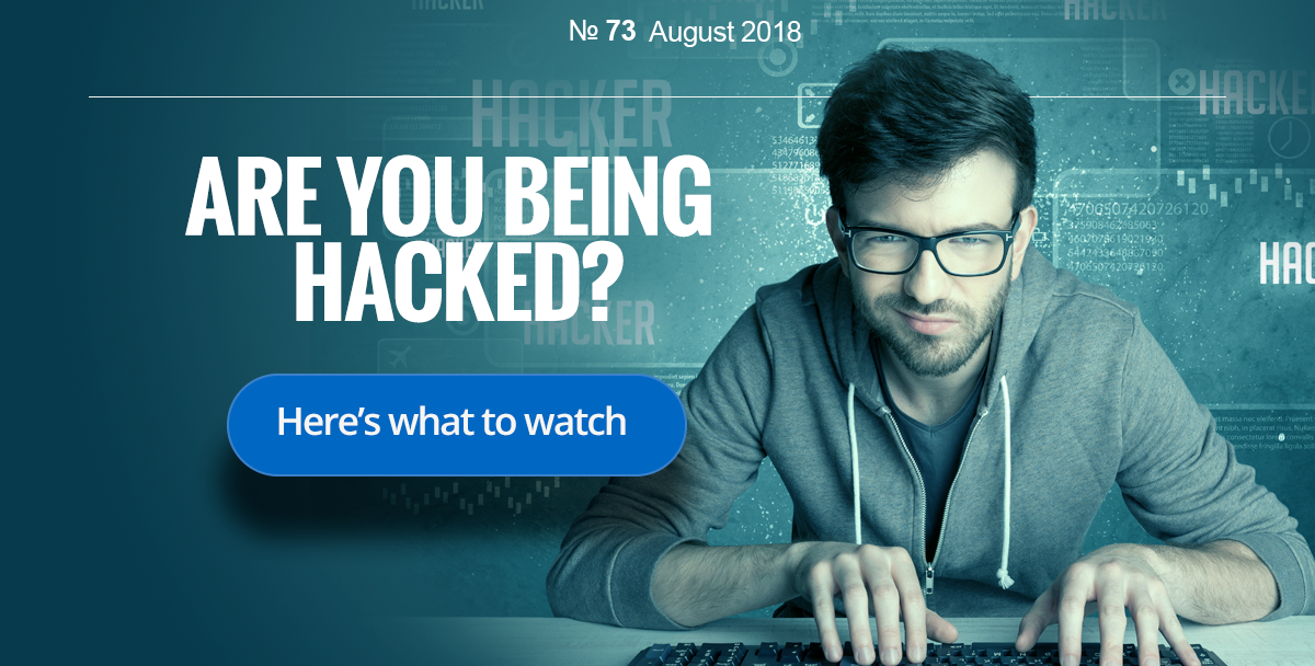 Are you being hacked?