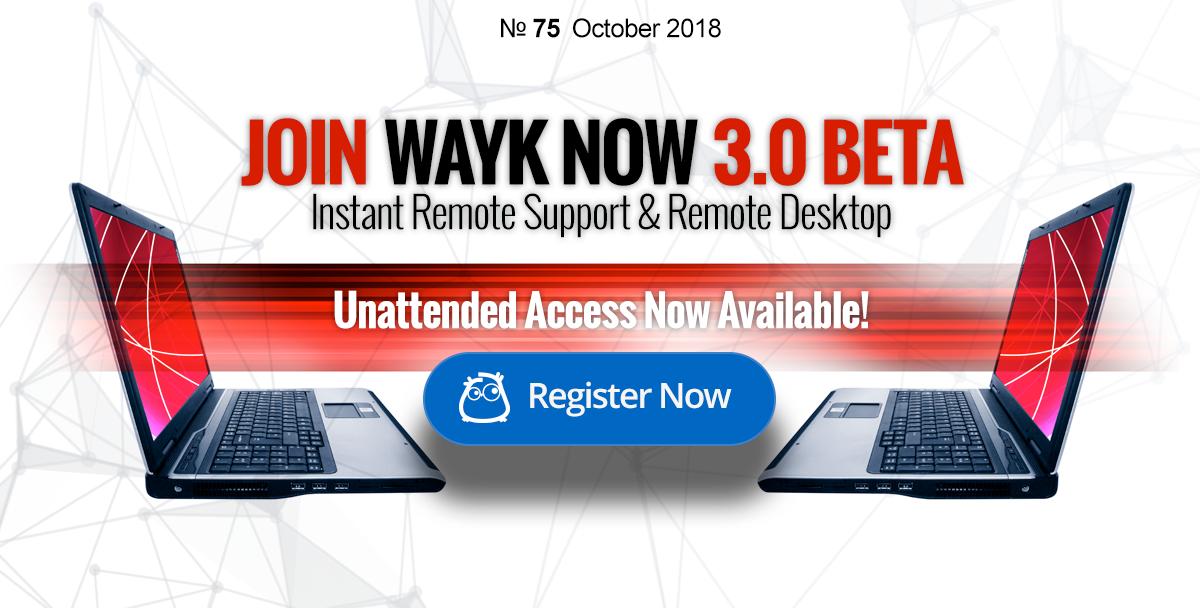 Join Wayk Now 3.0 Beta!