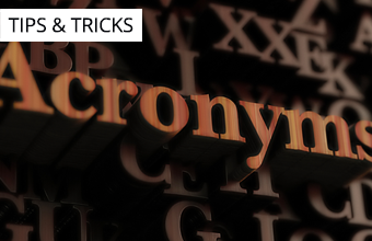 IT's Acronyms
