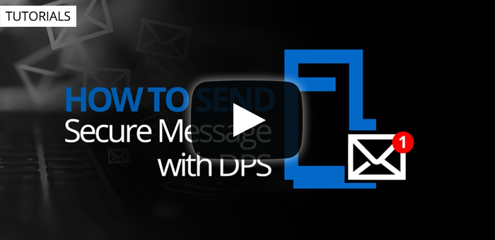 How to send secure messages in DPS