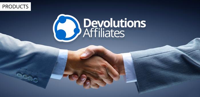 Join the Devolutions Affiliates Program