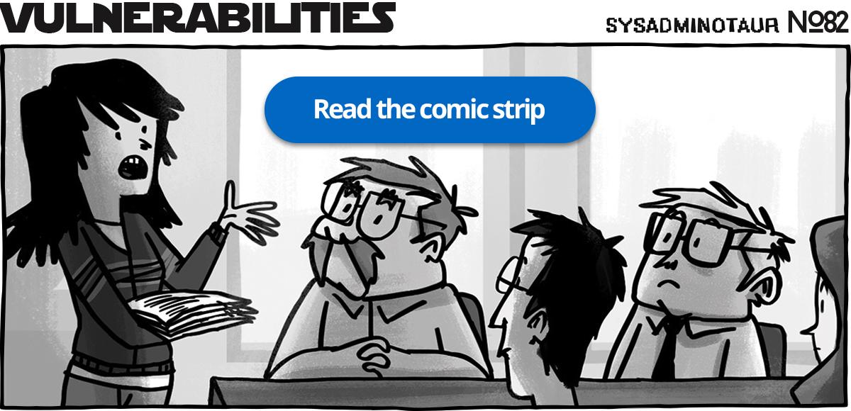 Sysadminotaur #82 - Vulnerabilities