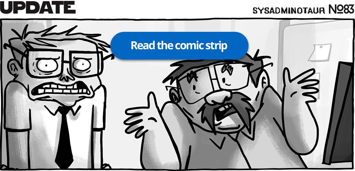 Sysadminotaur #83 - Update