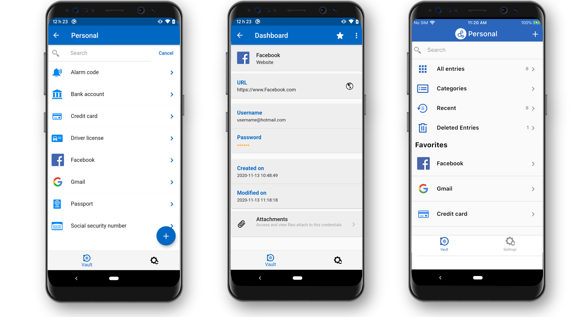 Manage Personal Passwords and Sensitive Data from Your Android Device - Password Hub Personal