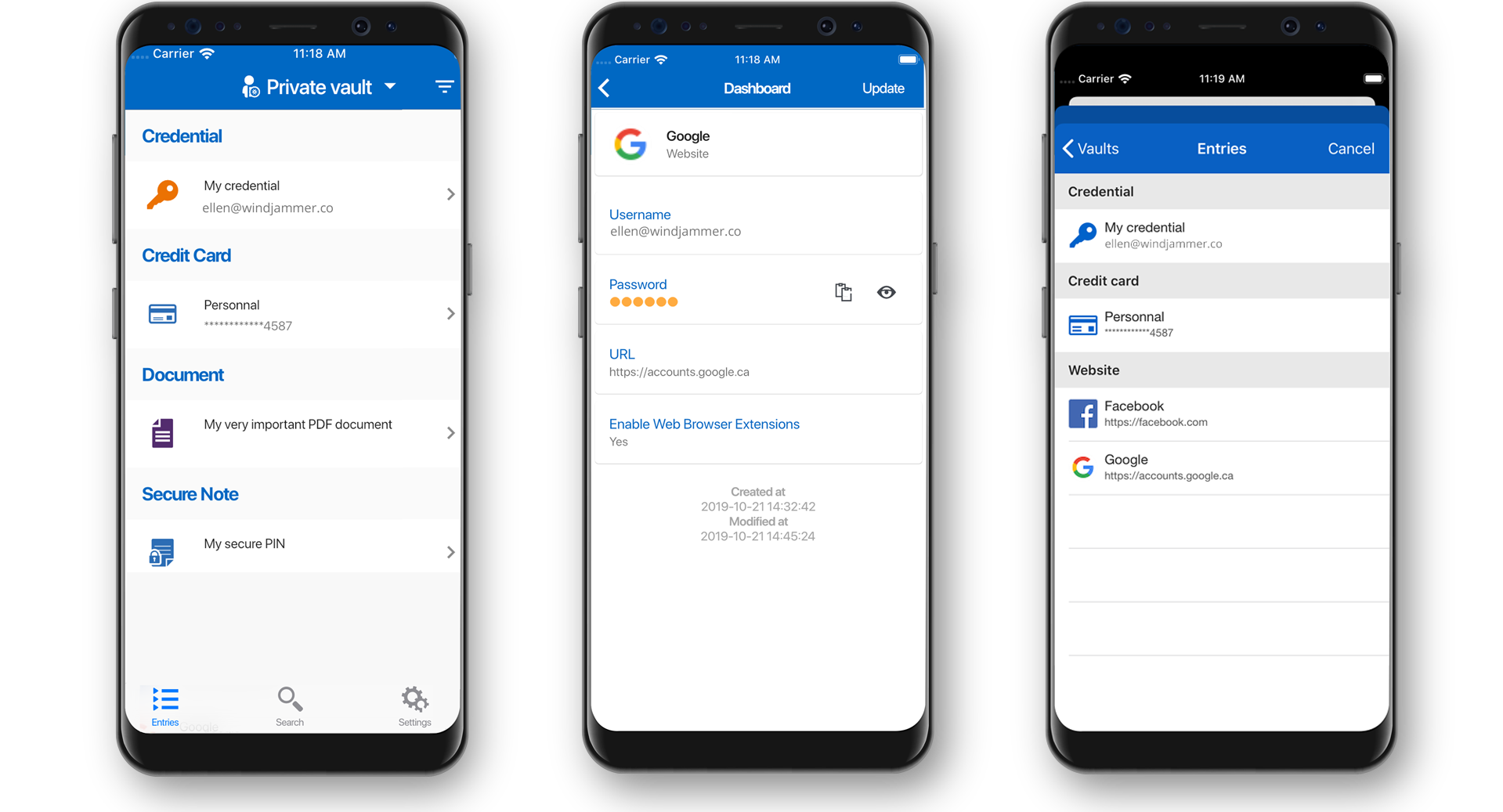Gérez les mots de passe et les données confidentielles à partir de votre appareil Android - Devolutions Password Hub
