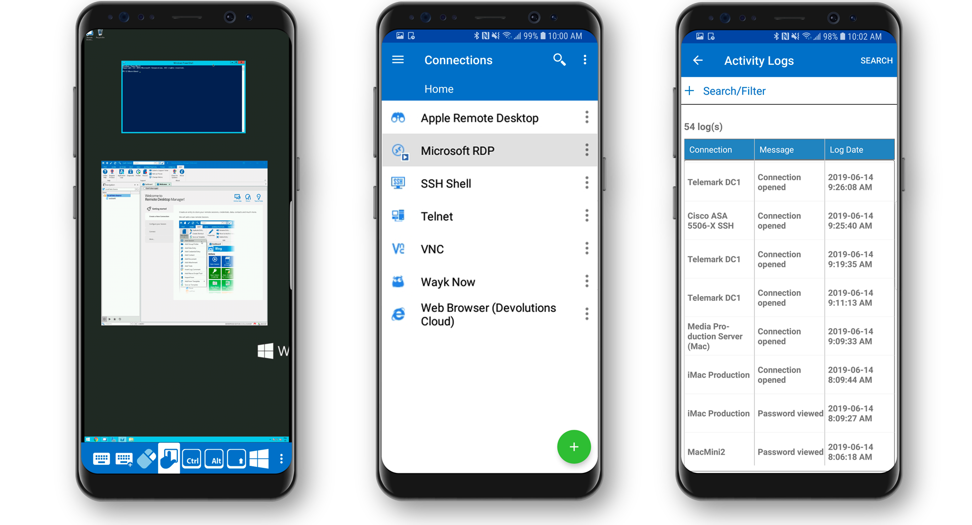 Easily Manage All Your Remote Connections From Your Android Device Android - Remote Desktop Manager