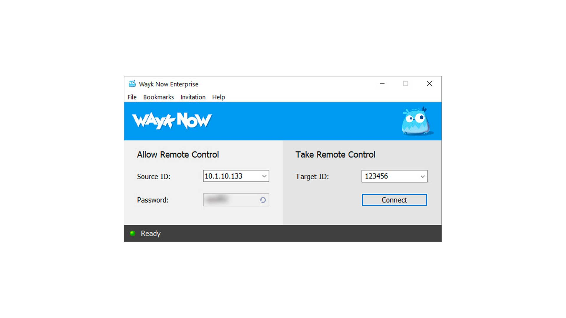 A Simple to Use Interface - Wayk Now