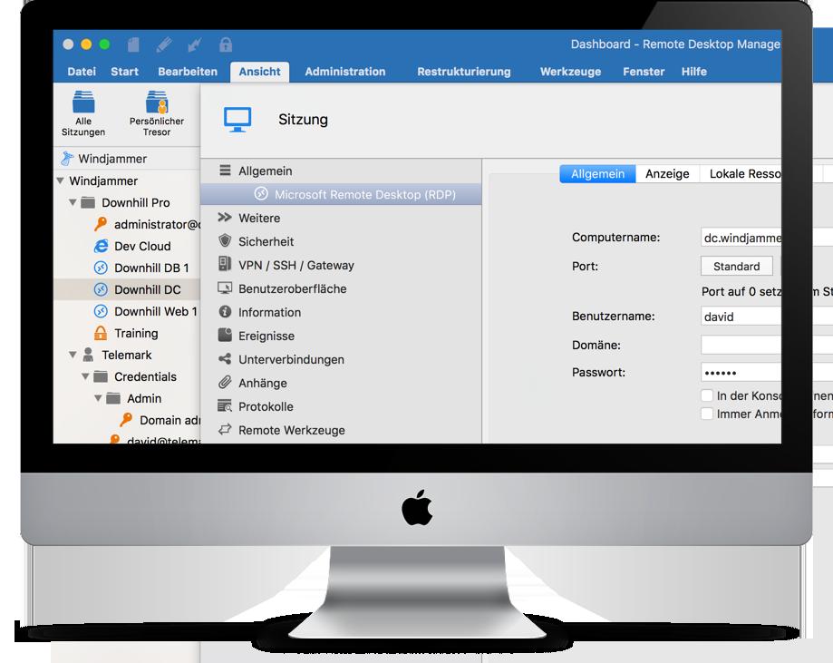 Remote Desktop Manager Mac Entry