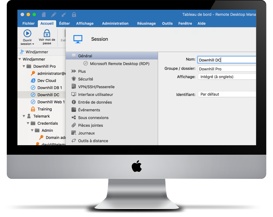 Remote Desktop Manager Mac Entry