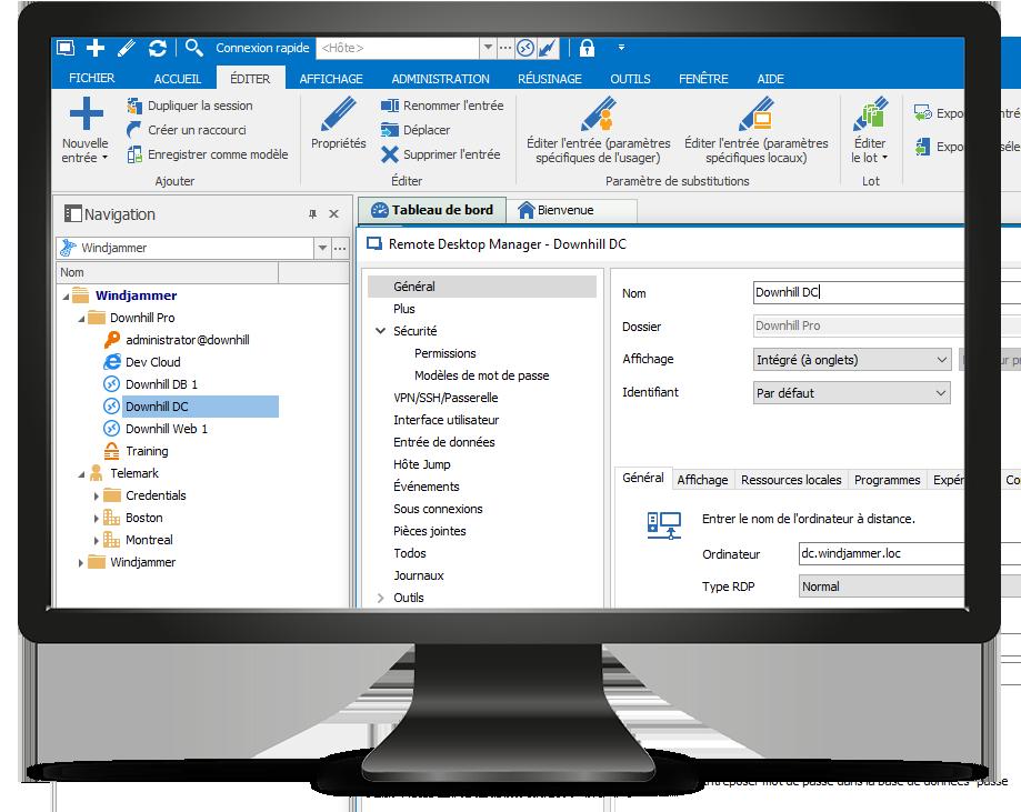 Remote Desktop Manager Entry
