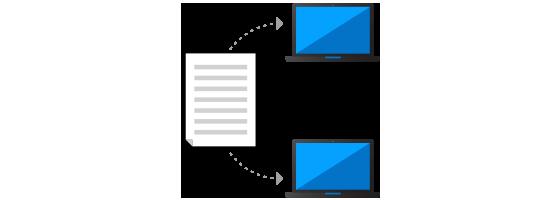 Transfert de fichiers & Presse-papiers partagé
