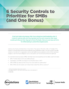6 Security Controls to Prioritize for SMBs (and One Bonus)