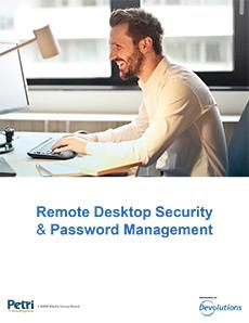 Remote Desktop Security & Password Management