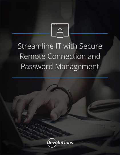 Streamline IT with Secure Remote Connection and Password Management